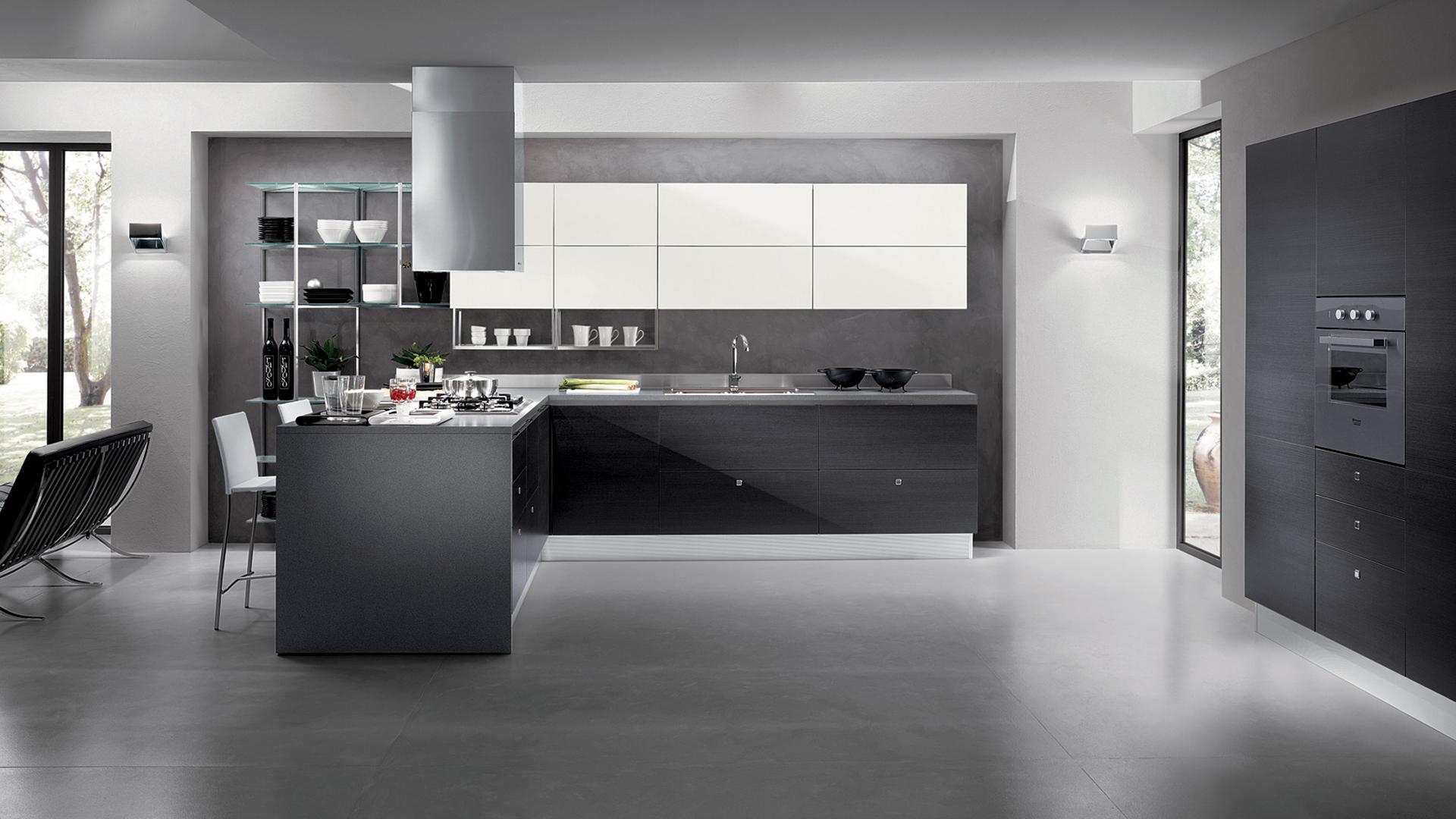 Cucine design 1 gallo domus arredamenti su misura a torino for Arredamenti su misura torino